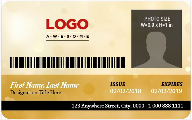 Employee Identity Card Template Inspirational 5 Best Corporate Professional Id Card Templates
