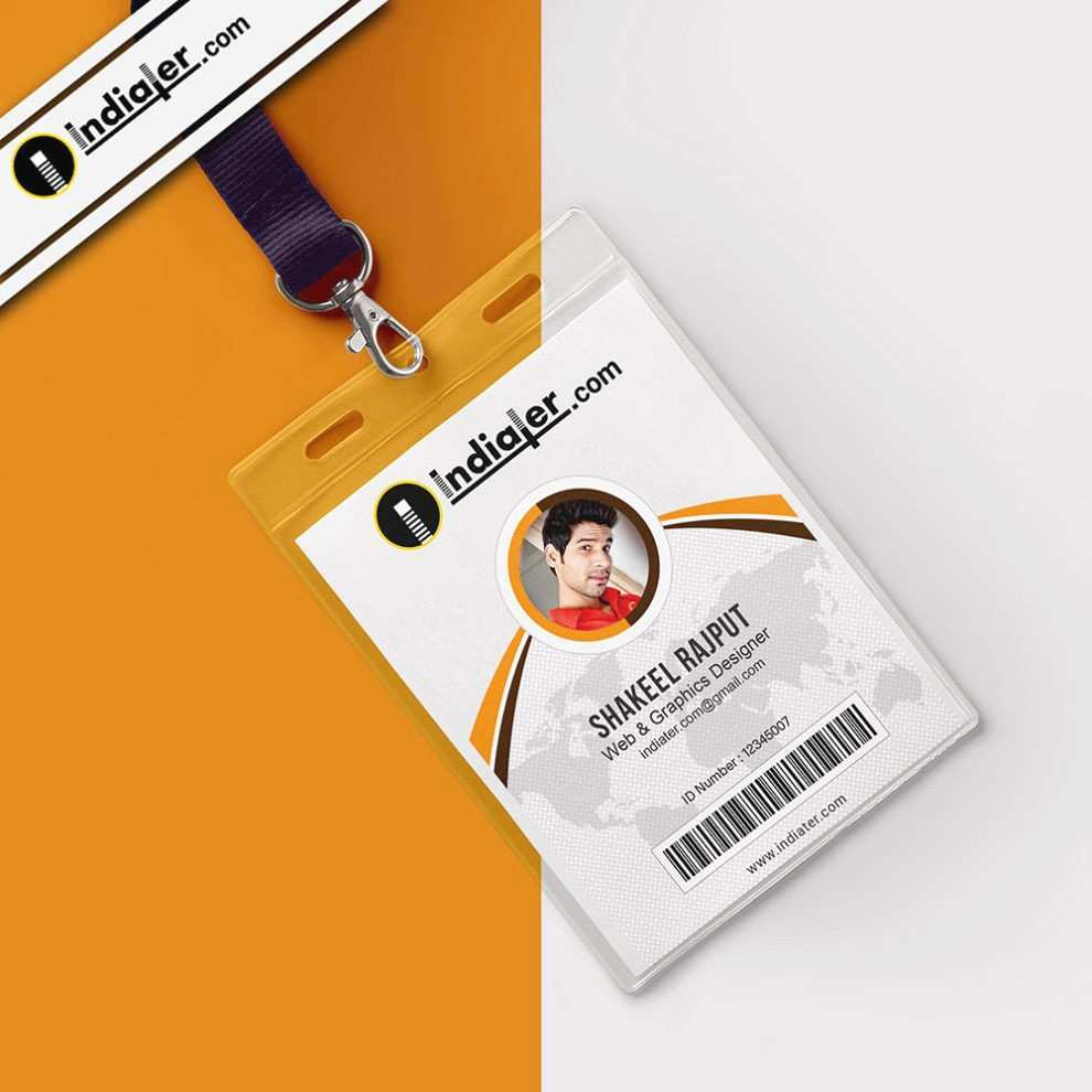 Employee Identity Card Template Luxury Elegant Employee Badge Template Publisher