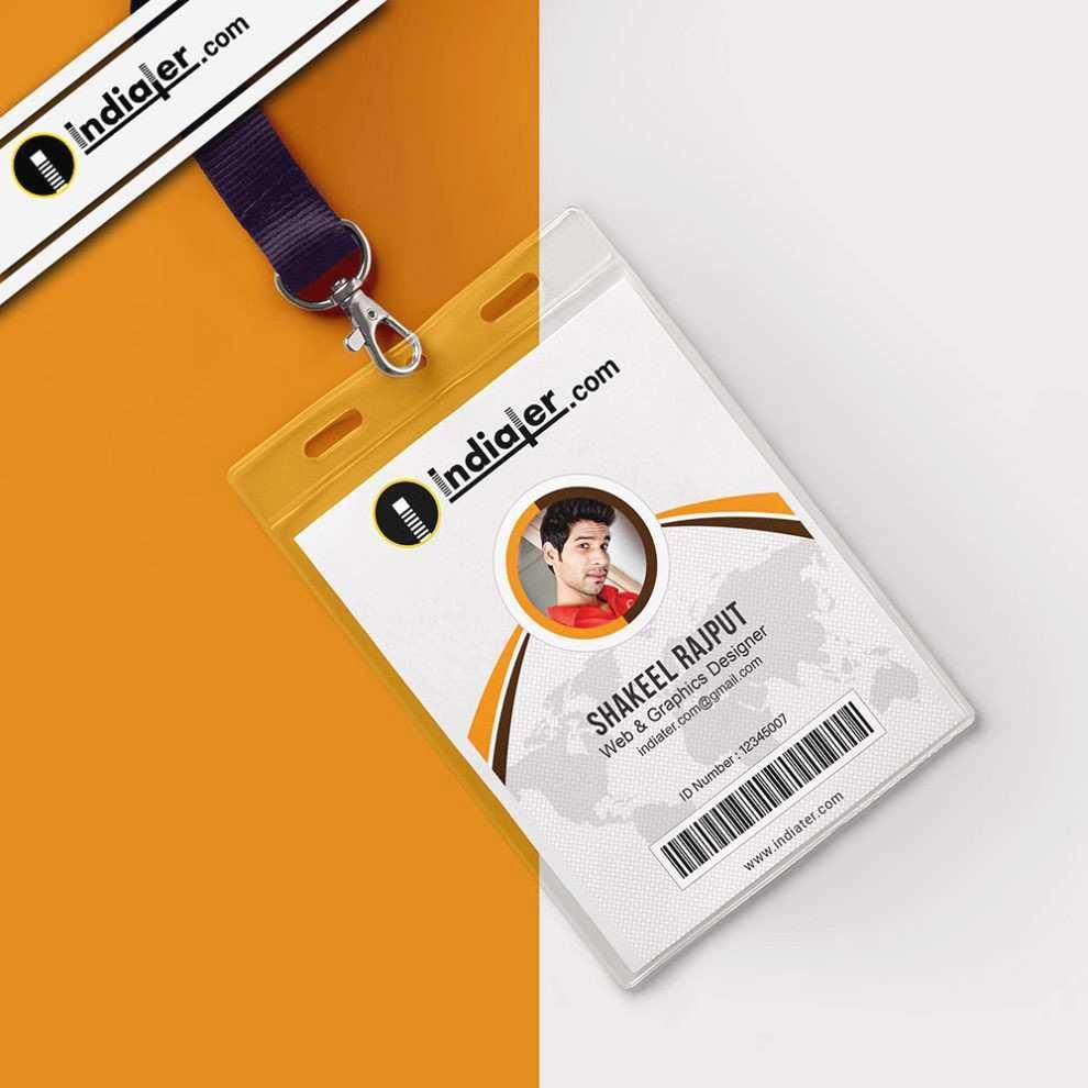 Employee Identity Card Template Luxury Elegant Employee Badge Template Publisher