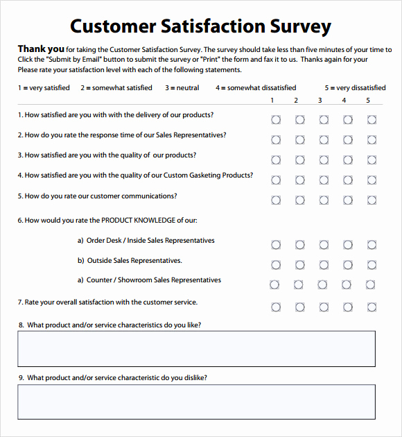 Employee Satisfaction Survey Template Fresh Employee Satisfaction Survey 8 Download Free Documents