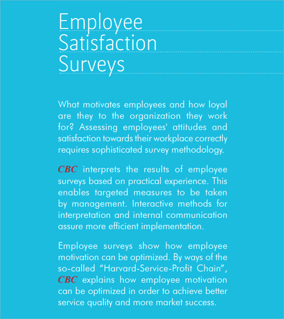 Employee Satisfaction Survey Template Inspirational Employee Satisfaction Survey 8 Download Free Documents