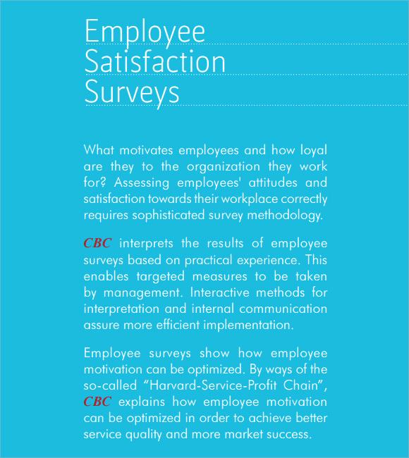 Employee Satisfaction Survey Template Inspirational Employee Satisfaction Survey 8 Download Free Documents