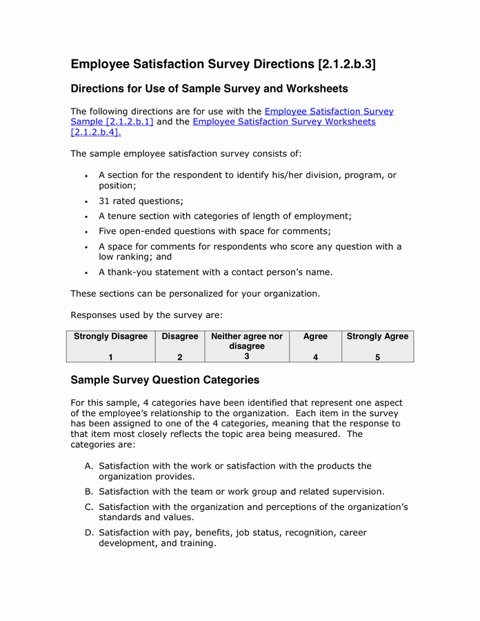 Employee Satisfaction Survey Template Luxury Sample Cover Letter for Employee Satisfaction Survey