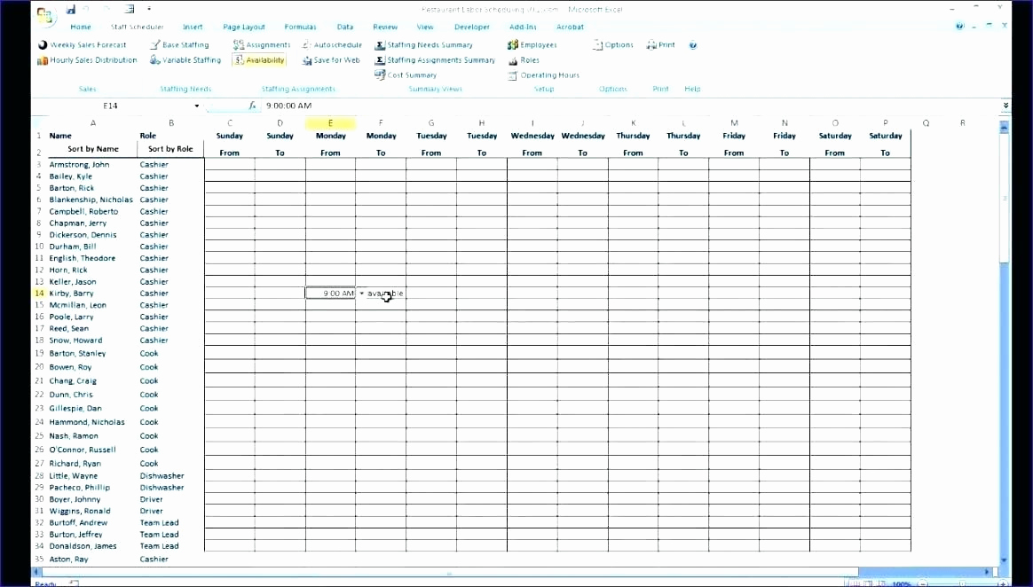 Excel Shift Schedule Template Inspirational Employee Scheduling Excel Employee Scheduling Spreadsheet