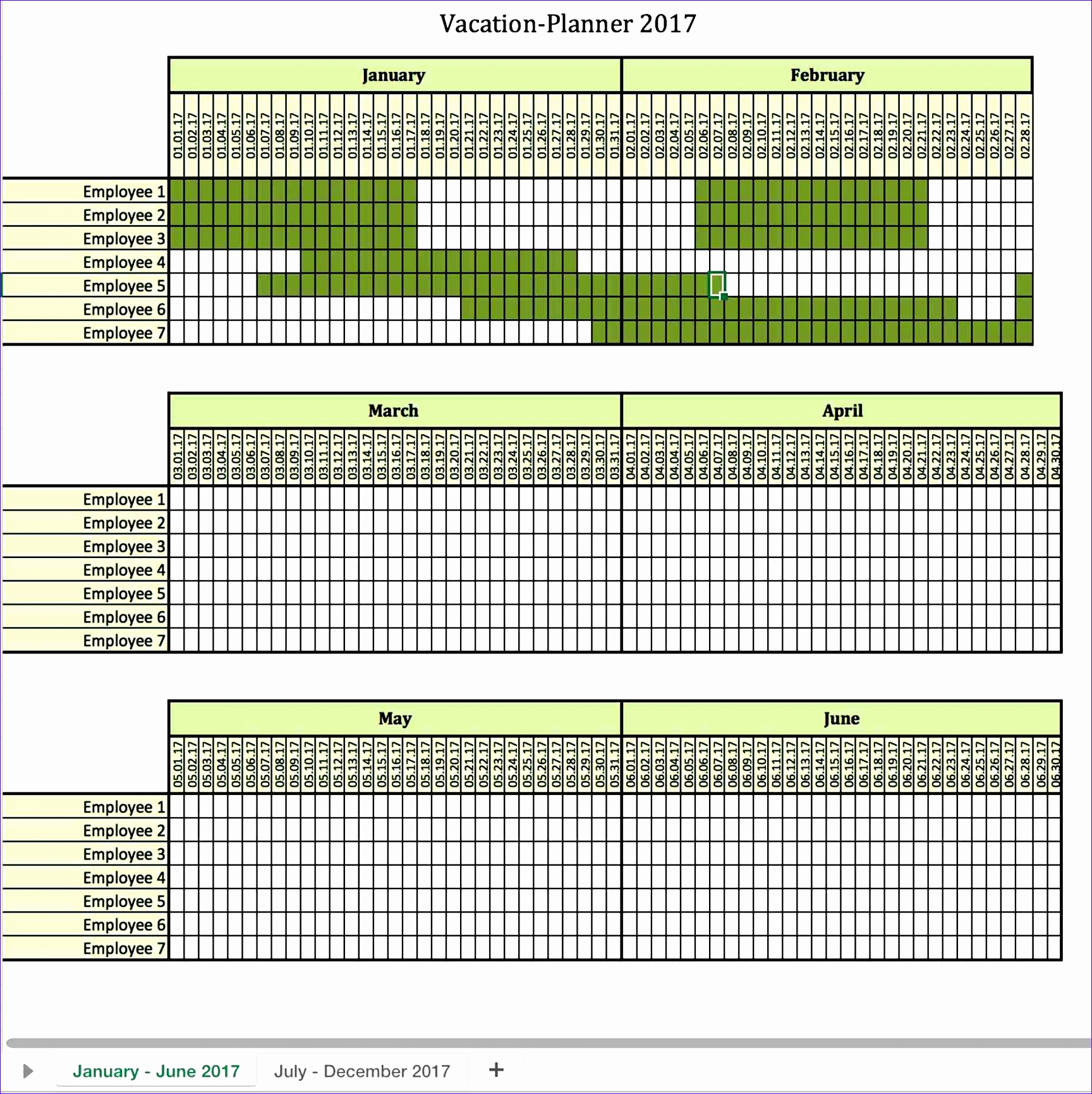 monthly employee work schedule template excel g2118
