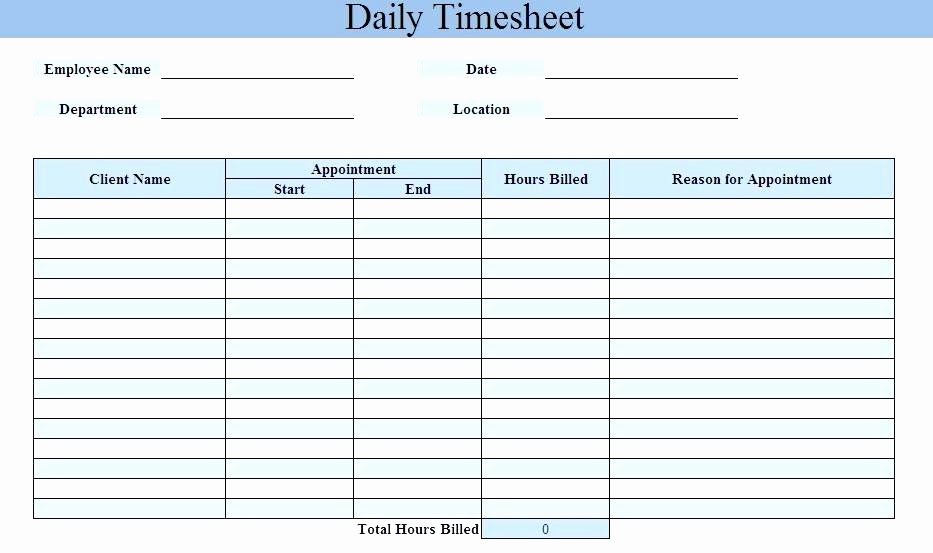 Excel Timesheet Template with Tasks Lovely Excel Daily Timesheet Template – Jewishhistoryfo