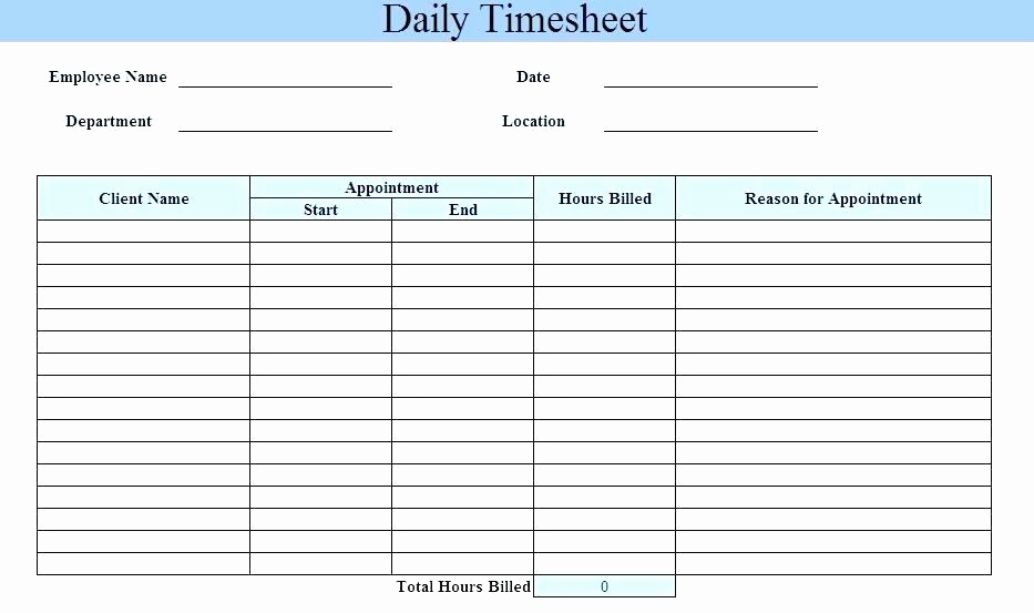 Excel Timesheet Template with Tasks New Excel Daily Timesheet Template – Jewishhistoryfo