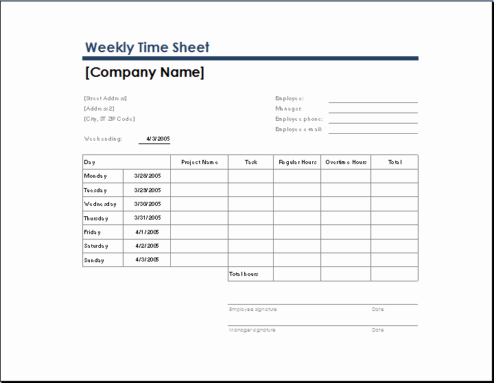 Excel Timesheet Template with Tasks Unique Ms Excel Ficial Time Sheet Templates