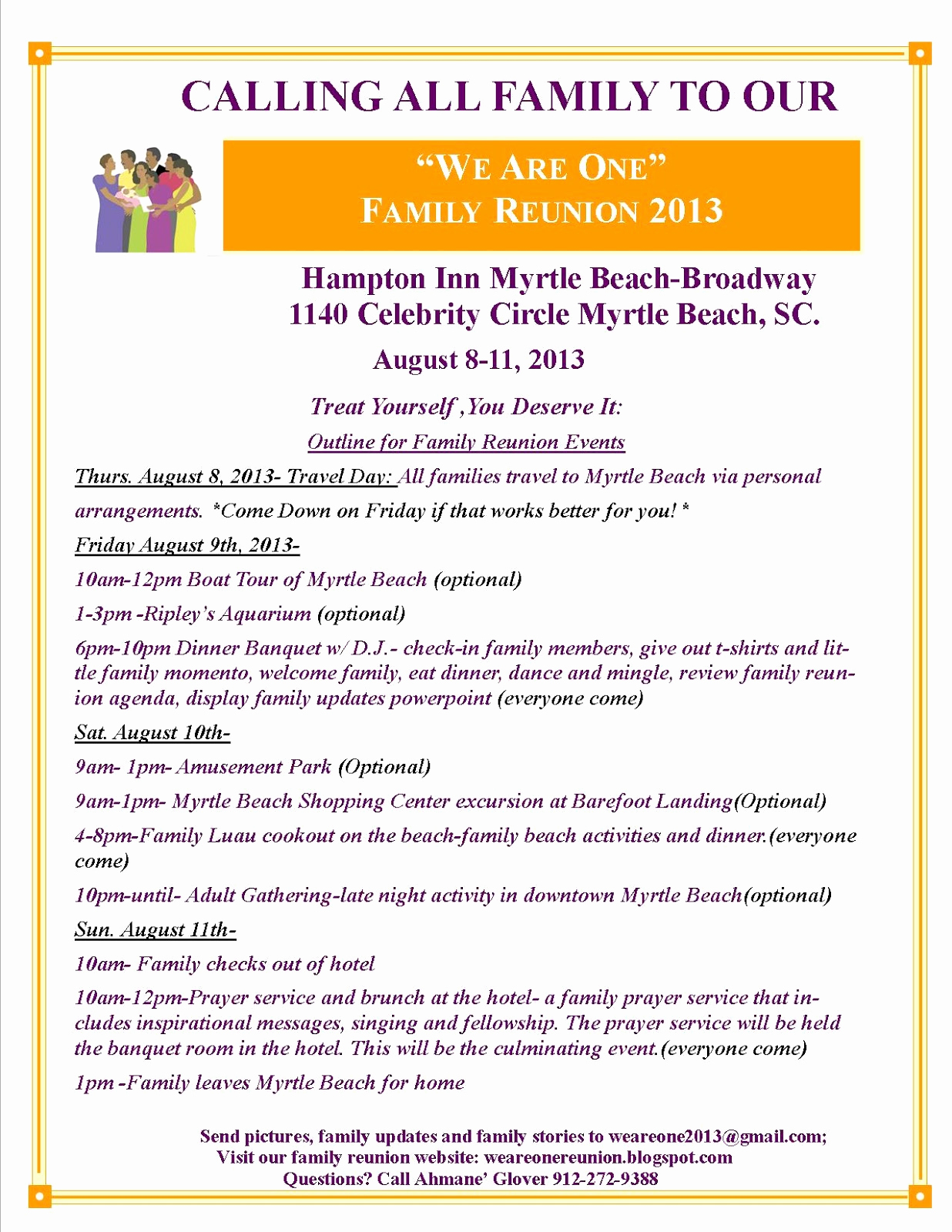 Family Reunion Flyers Templates Best Of We are E Family Reunion