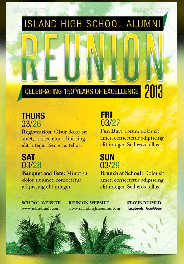 Family Reunion Flyers Templates Luxury Reunion Flyer Designs Yourweek 5bb7b6eca25e