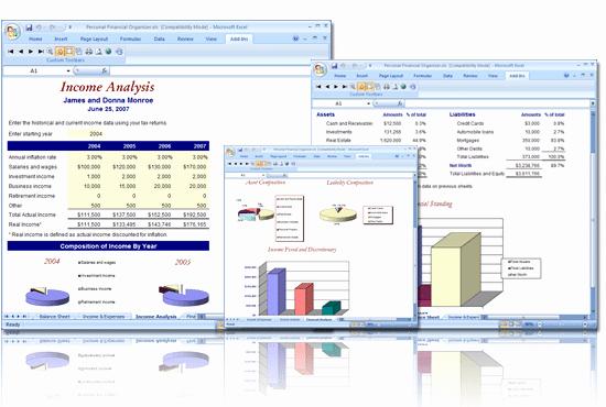 Financial Plan Template Excel Luxury 8 Financial Plan Templates Excel Excel Templates