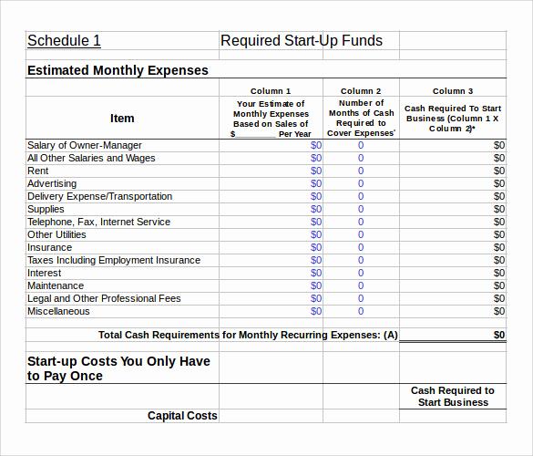 Financial Plan Template Excel Unique 10 Sample Financial Plans