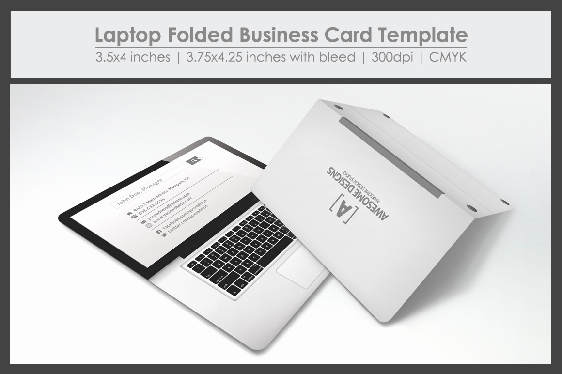 Folding Business Cards Template Beautiful Folded Business Card Template – Stockholmsfiskmarknad