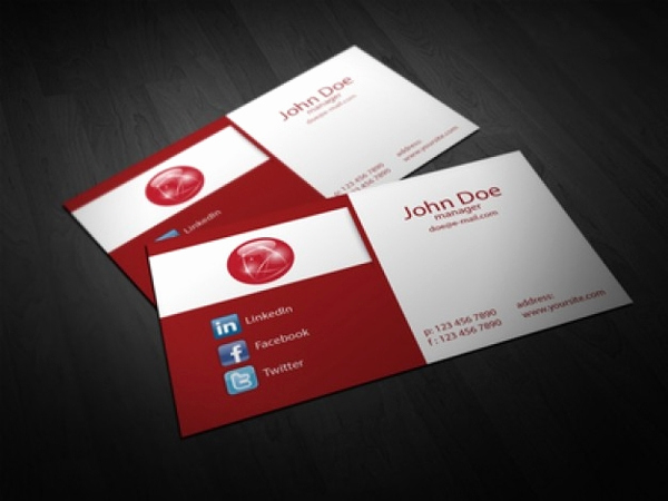 Folding Business Cards Template Best Of 22 Folded Business Cards Psd Ai Vector Eps