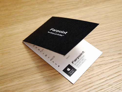Folding Business Cards Template Fresh Folded Business Cards Design