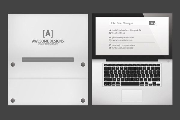 Folding Business Cards Template Inspirational 25 Best Ideas About Folded Business Cards On Pinterest