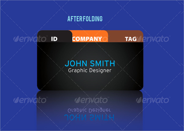 Folding Business Cards Template Inspirational Download Folded Business Cards for Free Tidytemplates