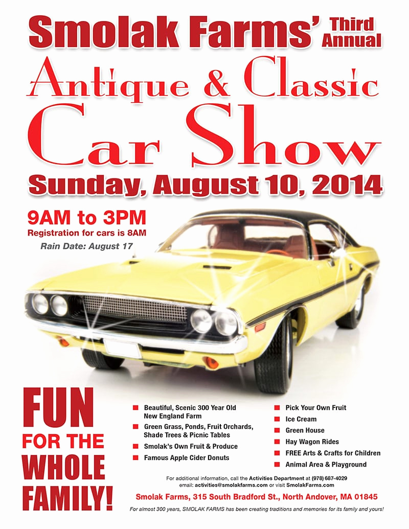 Free Download Flyer Template Awesome 5 Free Car Show Flyer Templates Excel Pdf formats