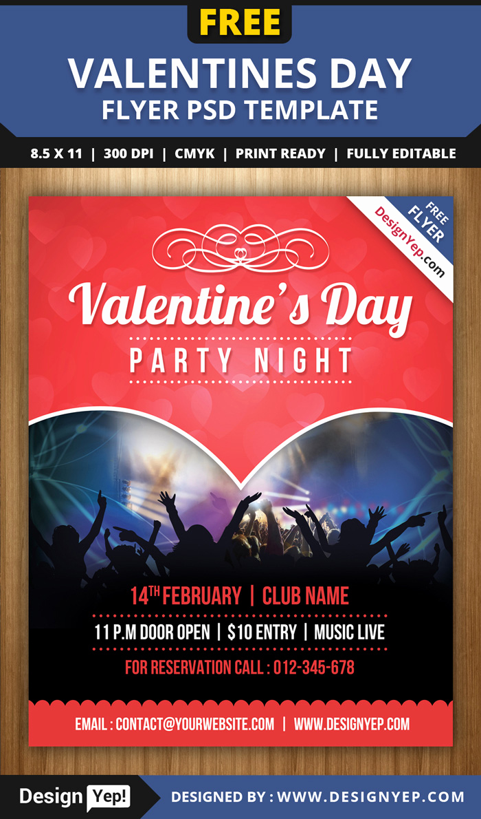 Free Download Flyer Template Fresh 55 Free Party & event Flyer Psd Templates Designyep