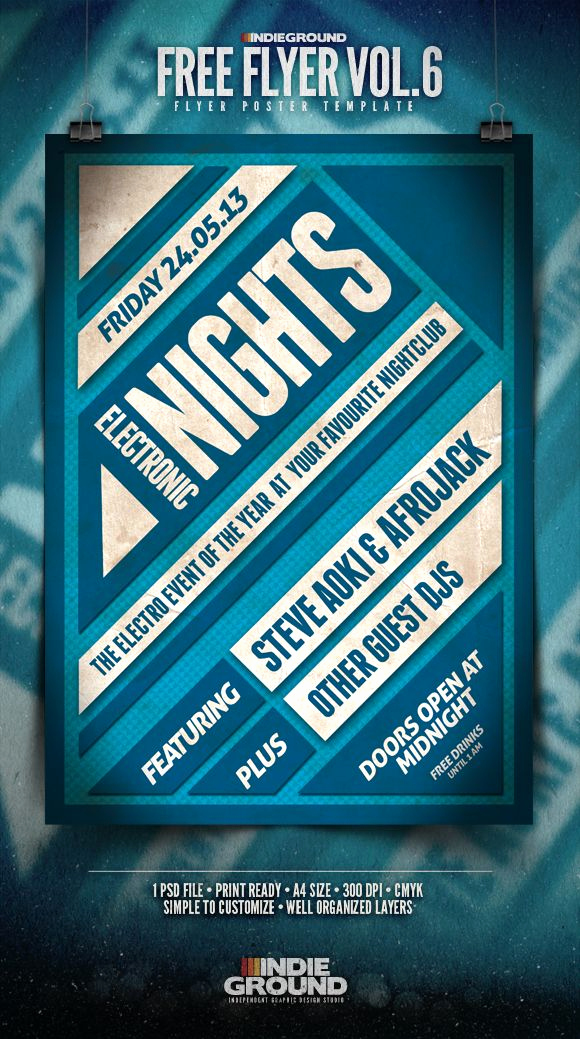 Free Download Flyer Template Lovely Free Flyer Template Vol 6 In Ground Graphic Design