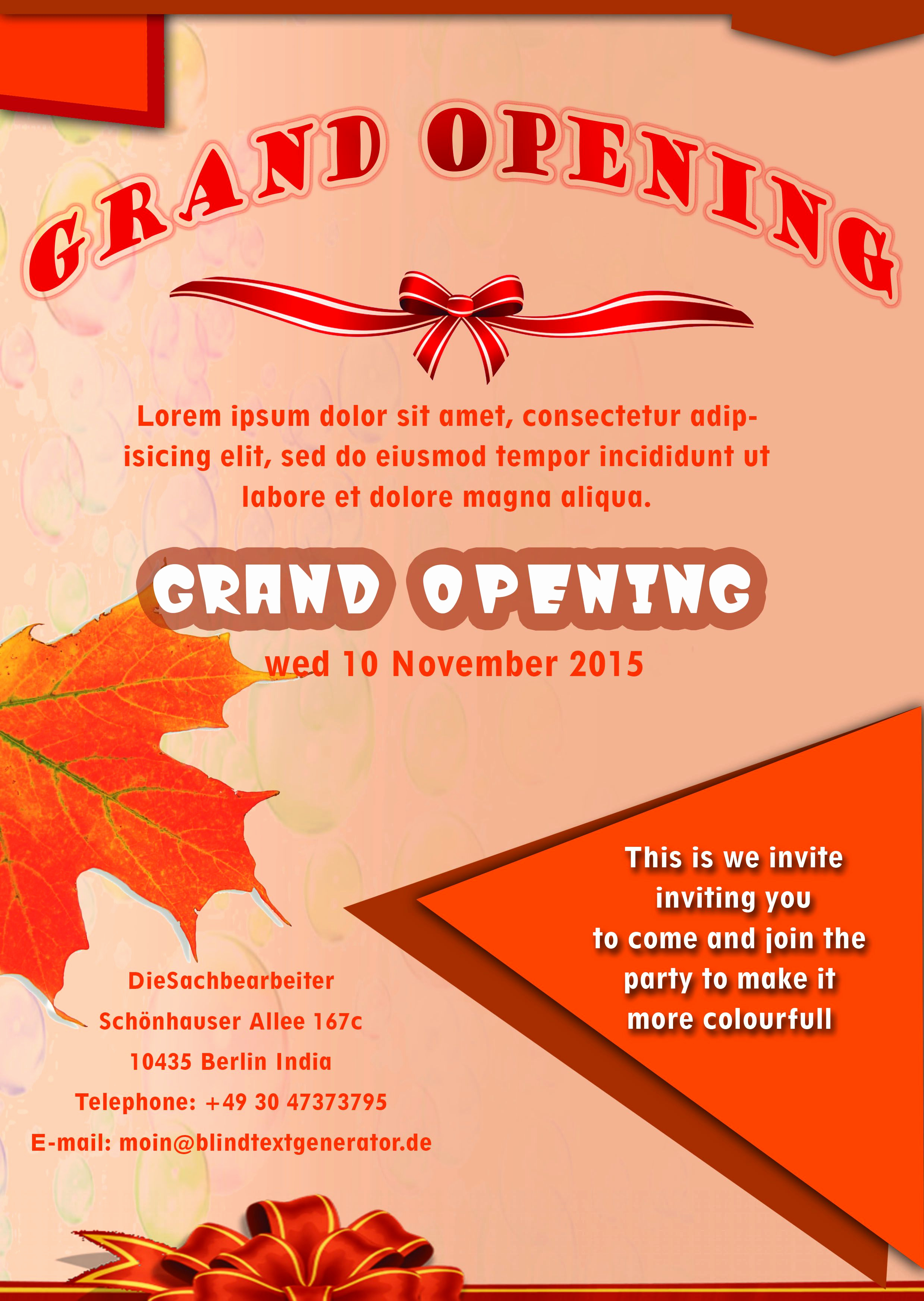 Free Download Flyer Template New 20 Grand Opening Flyer Templates Free Demplates