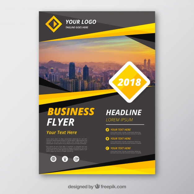 Free Download Flyer Templates Luxury Flyer Vectors S and Psd Files