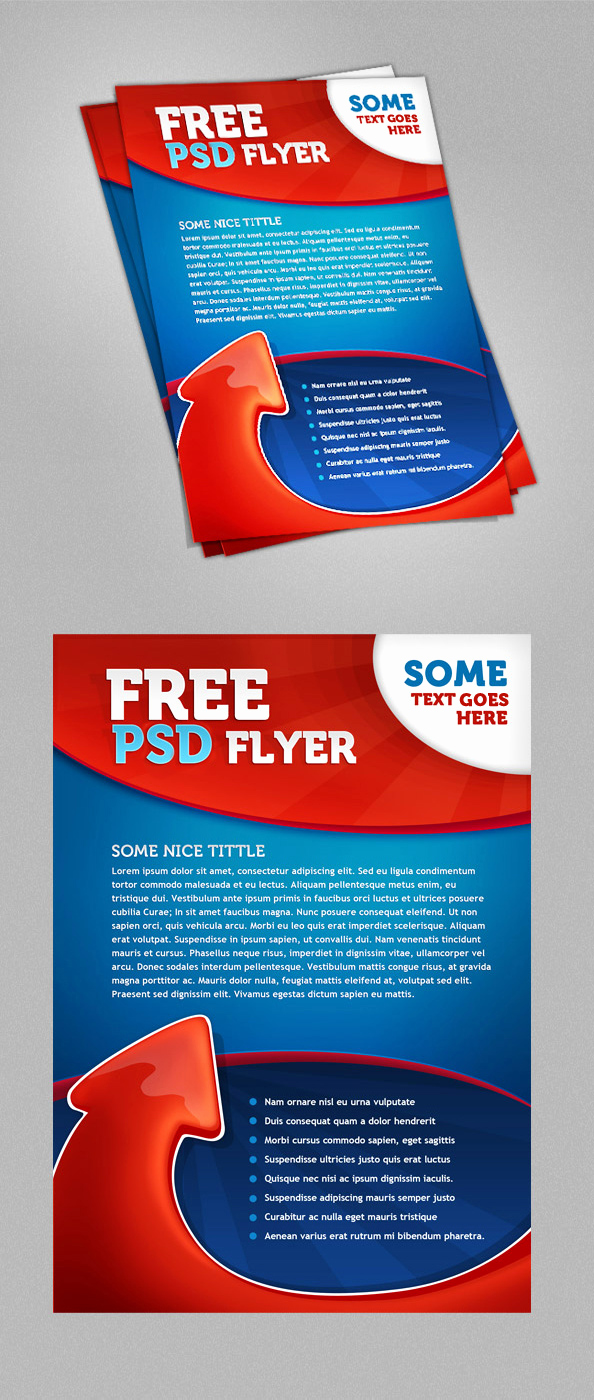 Free Download Flyer Templates New Psd Flyer Template Free Psd Files