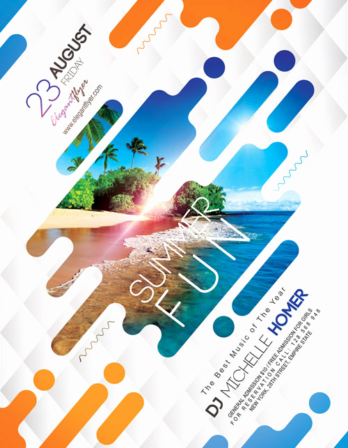 Free Download Flyer Templates New Summer Fun Free Flyer Template Download Free Flyer Templates