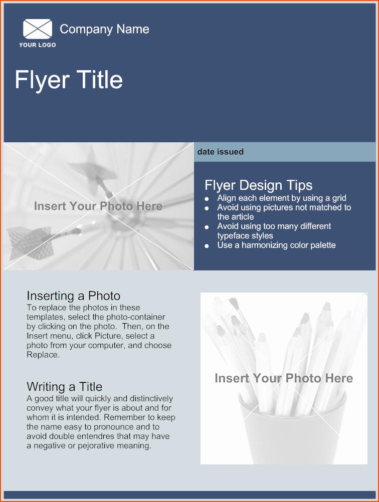 Free Download Flyer Templates Unique 5 Free Online Flyer Templates Bookletemplate
