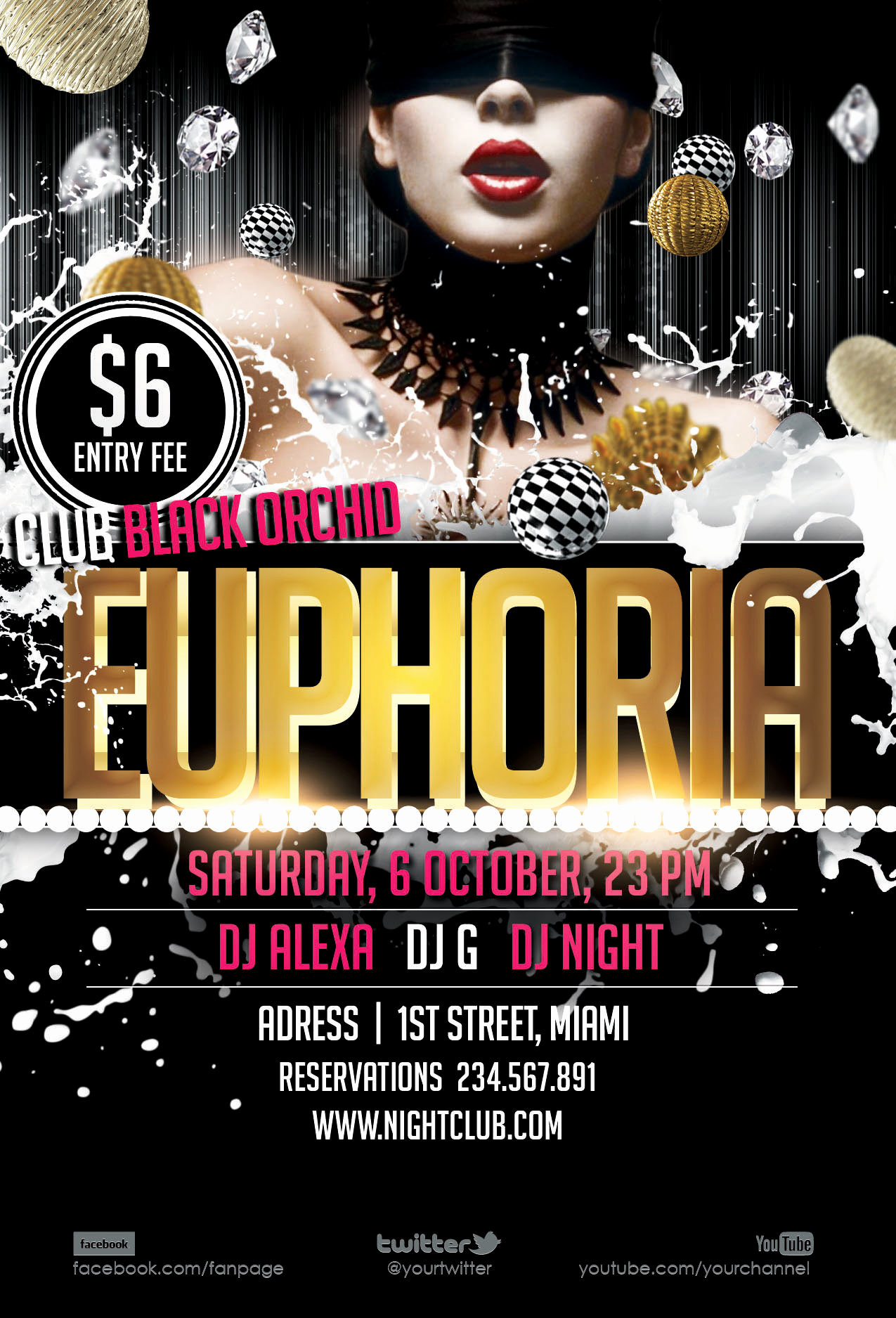 Free Downloadable Flyer Templates Fresh 19 Strip Club Flyer Psd Templates Free Club Flyer