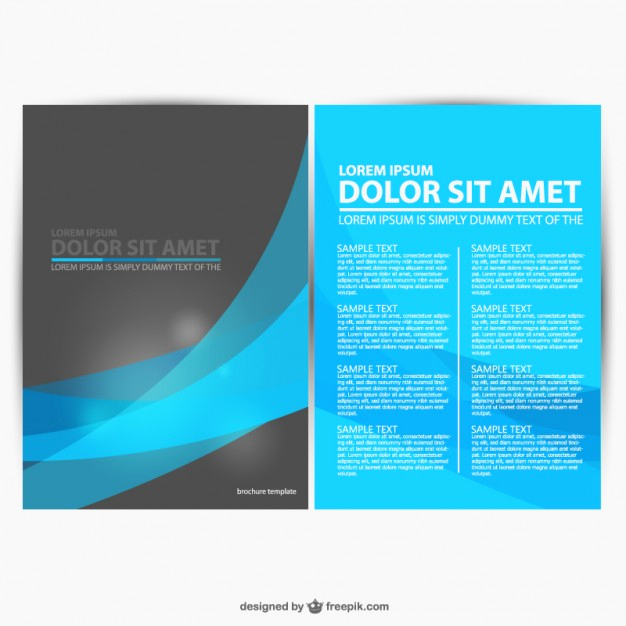 Free Downloadable Flyer Templates Fresh 30 Free Brochure Vector Design Templates Designmaz