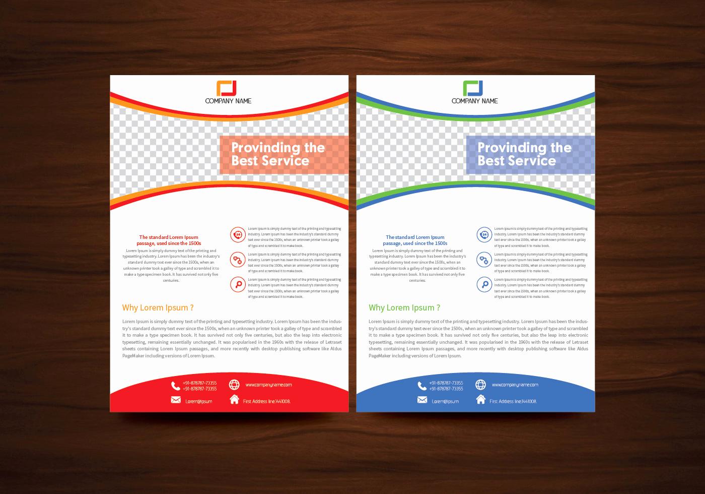 Free Downloadable Flyer Templates Unique Vector Brochure Flyer Template Vector Download Free