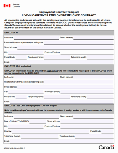 Free Employment Contract Templates Fresh Employment Contract Template Free Download Create Edit