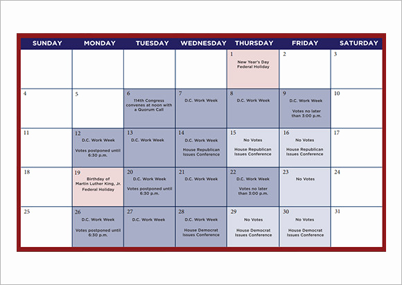 Free event Calendar Template Elegant 9 Sample Planning Calendar Templates to Download
