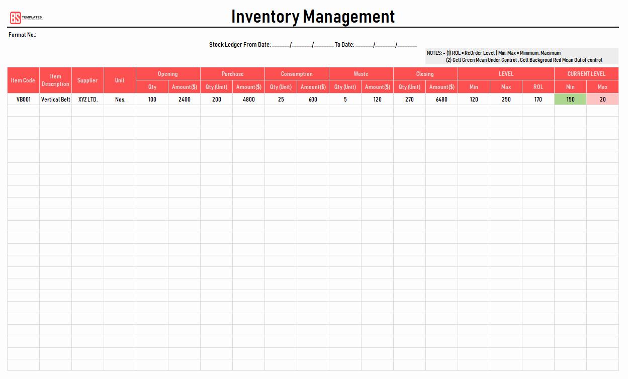 Free Excel Inventory Template Elegant Excel Inventory Template Free Inventory Excel Spreadsheet