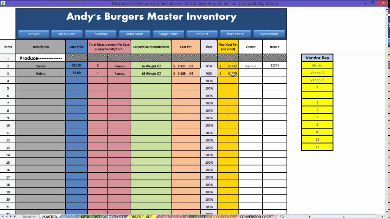 Free Excel Inventory Template Lovely Free Excel Inventory Spreadsheet Template