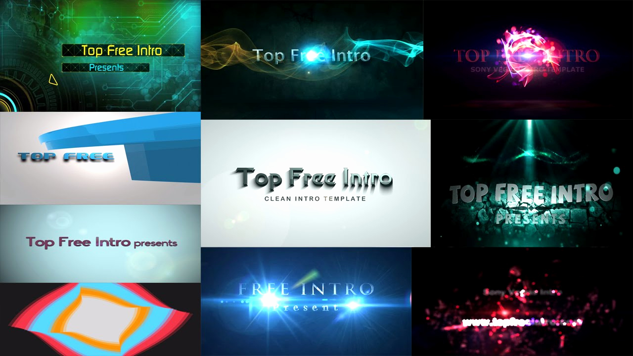 "Free Intro Templates Download Elegant top 10 Free Intro Templates 2016 ""sony Vegas Intro"