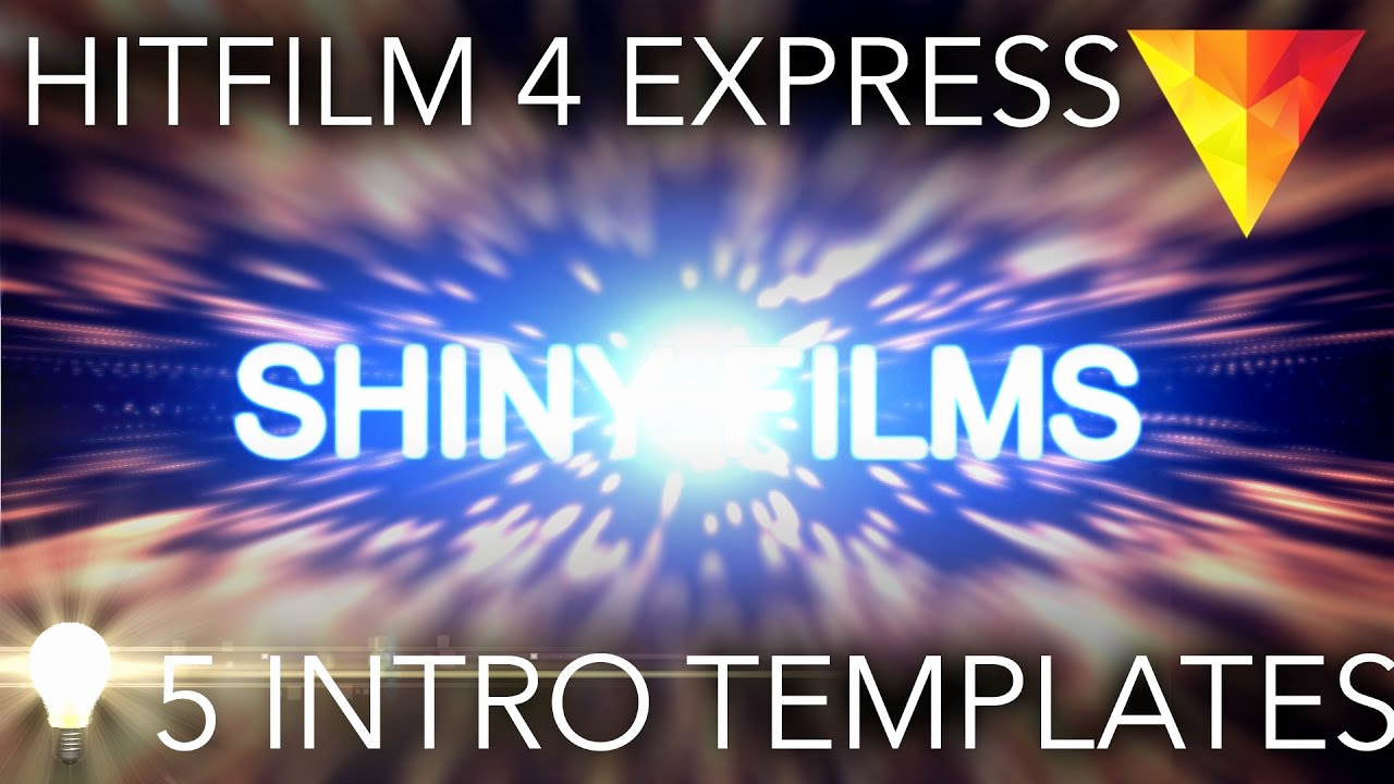 Free Intro Templates Download Fresh 5 Free Intro Templates for Hitfilm 4 Express Download
