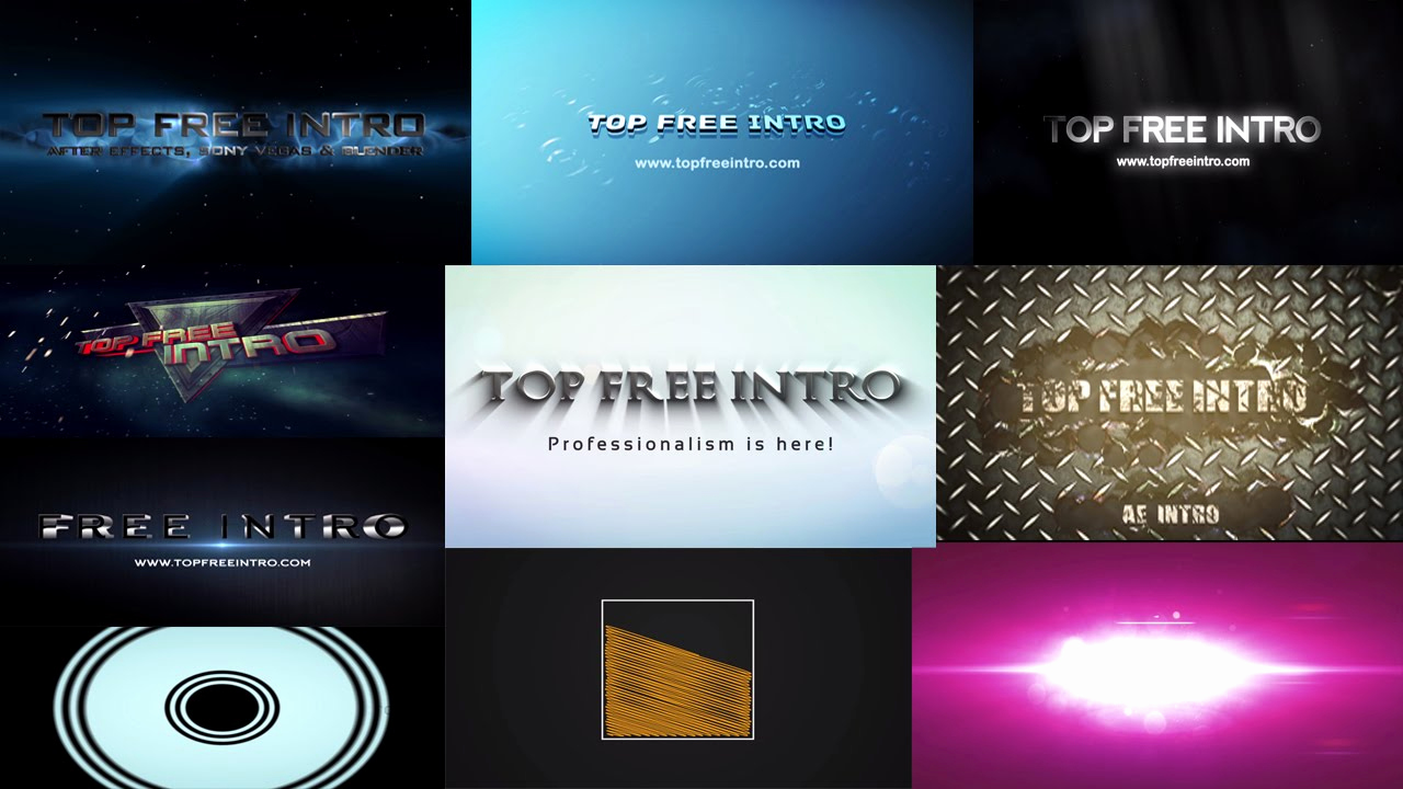 Free Intro Templates Download Fresh top 10 Free Intro Templates No Plugins after Effects Intro