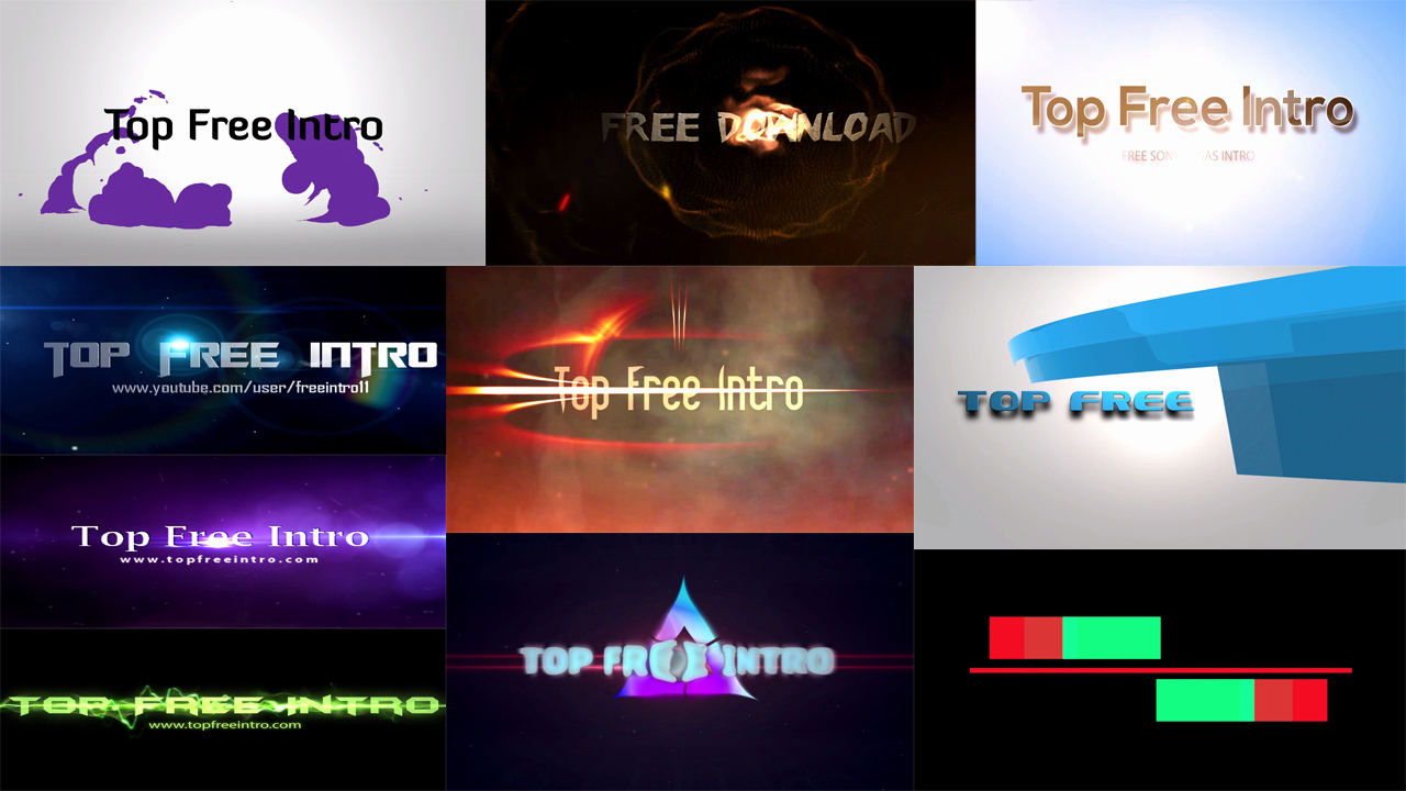 Free Intro Templates Download Inspirational top 10 Free Intro Templates 2016 sony Vegas No