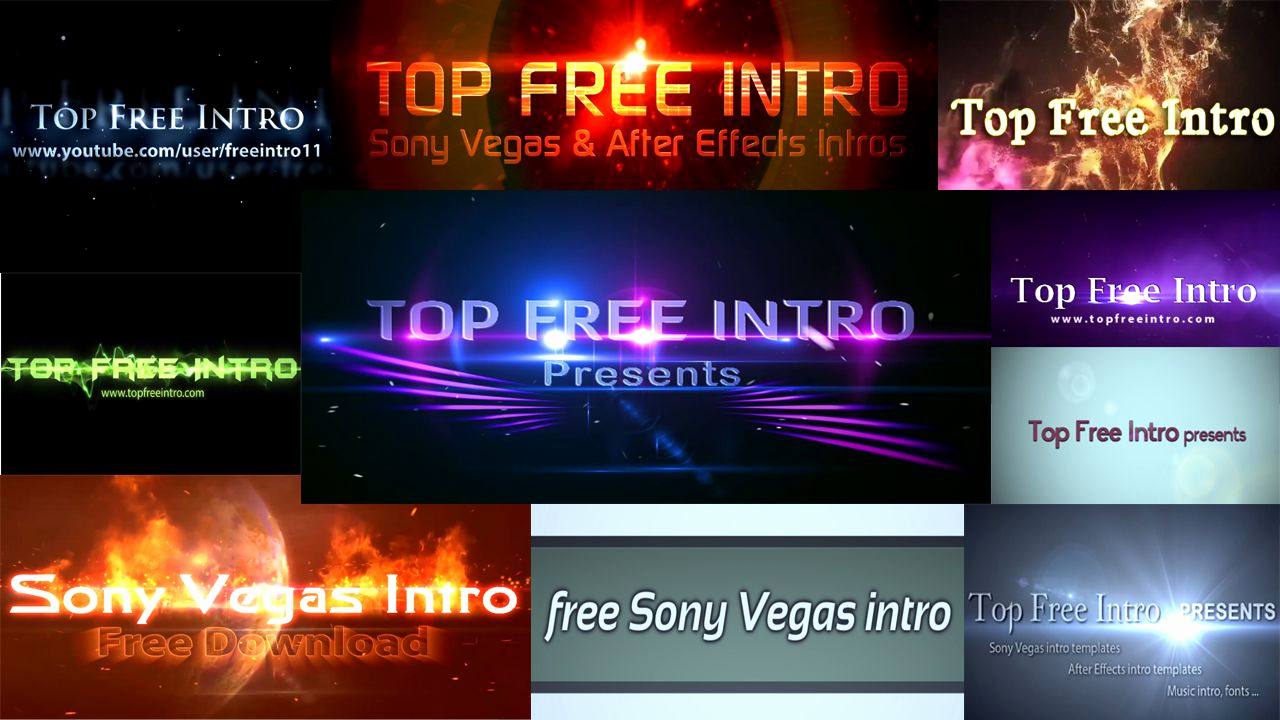 Free Intro Templates Download Lovely top 10 Free Intro Templates 2016 sony Vegas