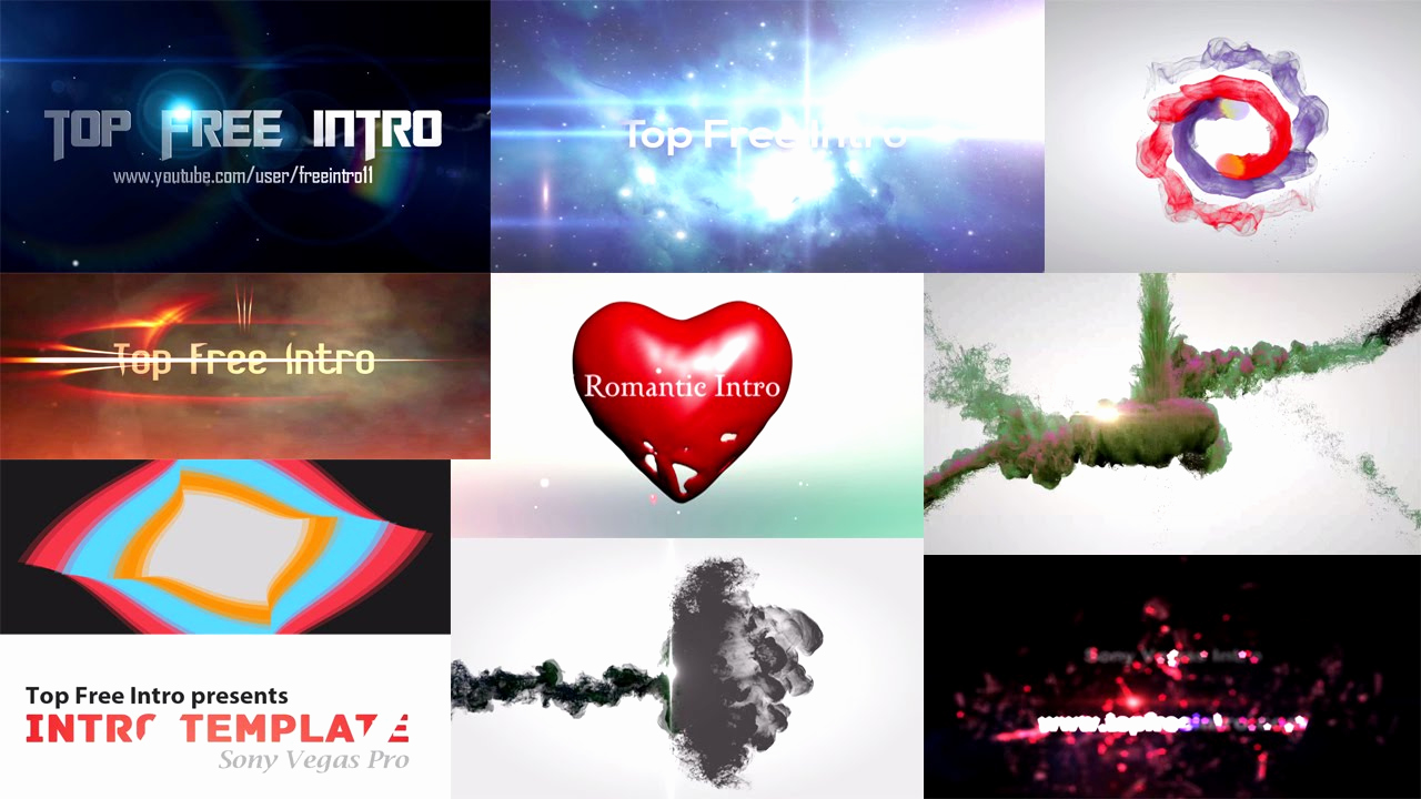 Free Intro Templates Download Unique top 10 Intro Template sony Vegas Pro 13 2016 Download Free