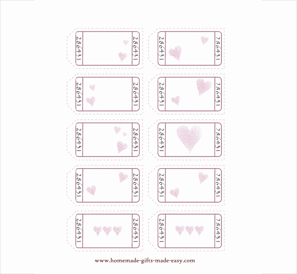 Free Printable Coupon Template Blank Awesome 25 Love Coupon Templates Psd Ai Eps Pdf