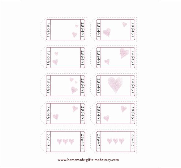 Free Printable Coupon Template Blank Awesome 25 Love Coupon Templates Psd Ai Eps Pdf