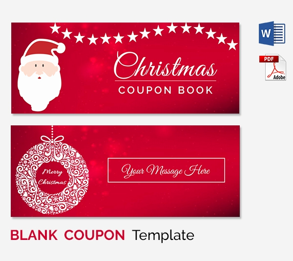 Free Printable Coupon Template Blank Best Of Blank Coupon Templates – 26 Free Psd Word Eps Jpeg