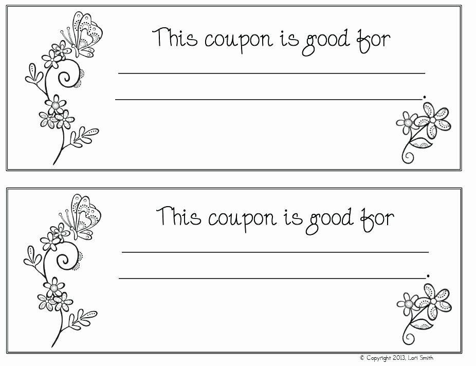 Free Printable Coupon Template Blank Best Of Coupon Book Ideas for Husband Blank Love Templates