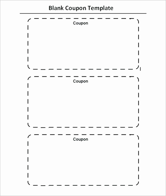 Free Printable Coupon Template Blank Elegant Fantastic Babysitting Coupon Template Resume Ideas