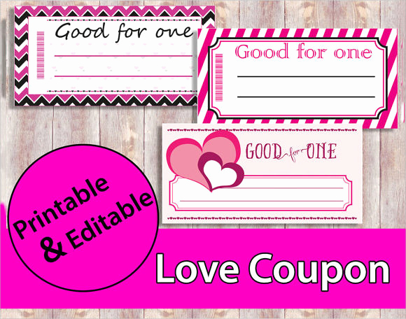 Free Printable Coupon Template Blank Fresh 10 Sample Blank Coupon Templates to Download