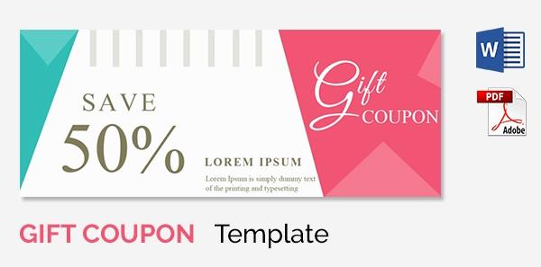 Free Printable Coupon Template Blank Inspirational Blank Coupon Templates – 26 Free Psd Word Eps Jpeg