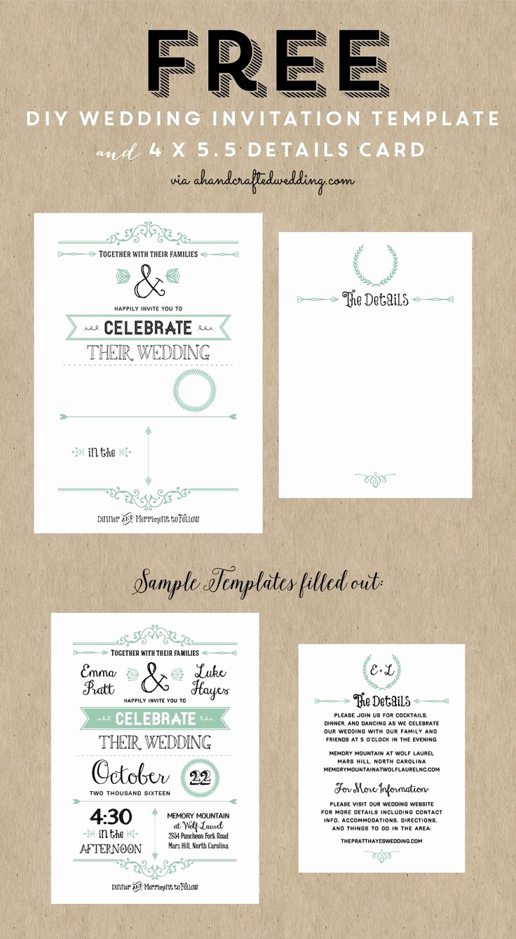 Free Printable Photo Cards Templates Best Of Diy Wedding Invitations Templates